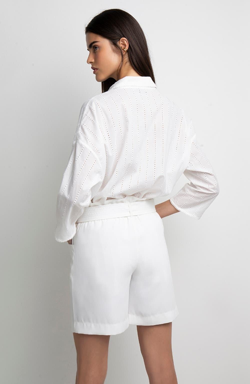 maxi camisa branca izabel