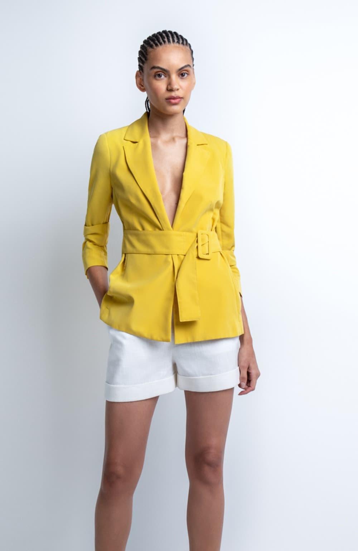 blazer amarelo faiza
