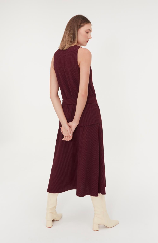 vestido com cinto amora