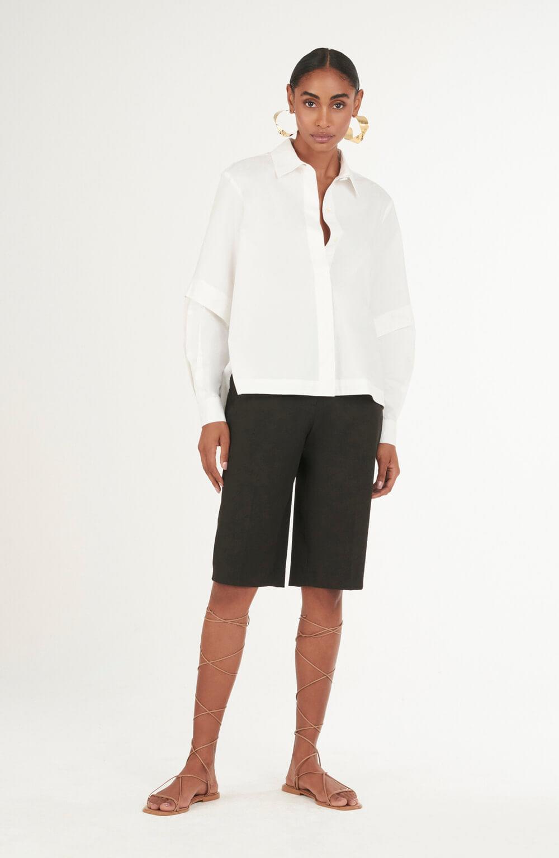 camisa algodao mg longa