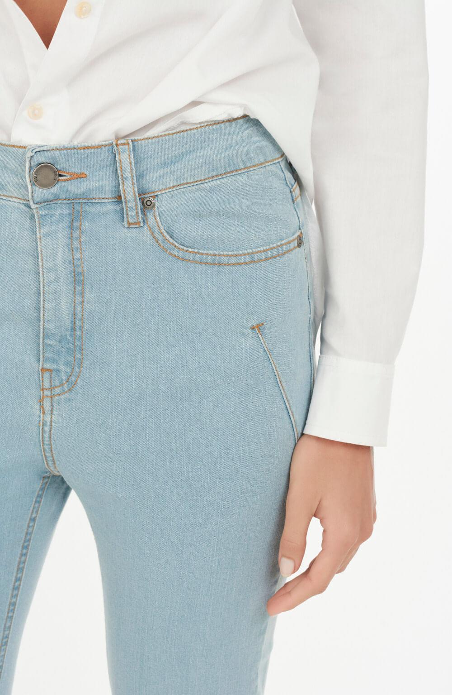 calça palmas basic azul claro basic