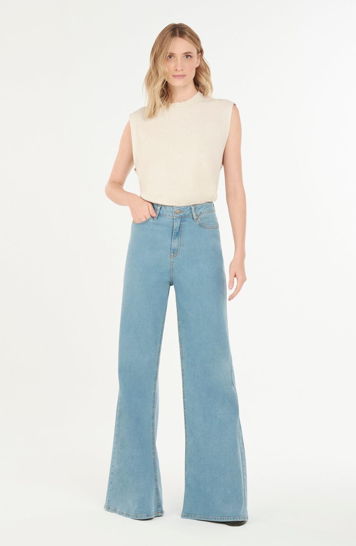 calça manaus basic azul claro